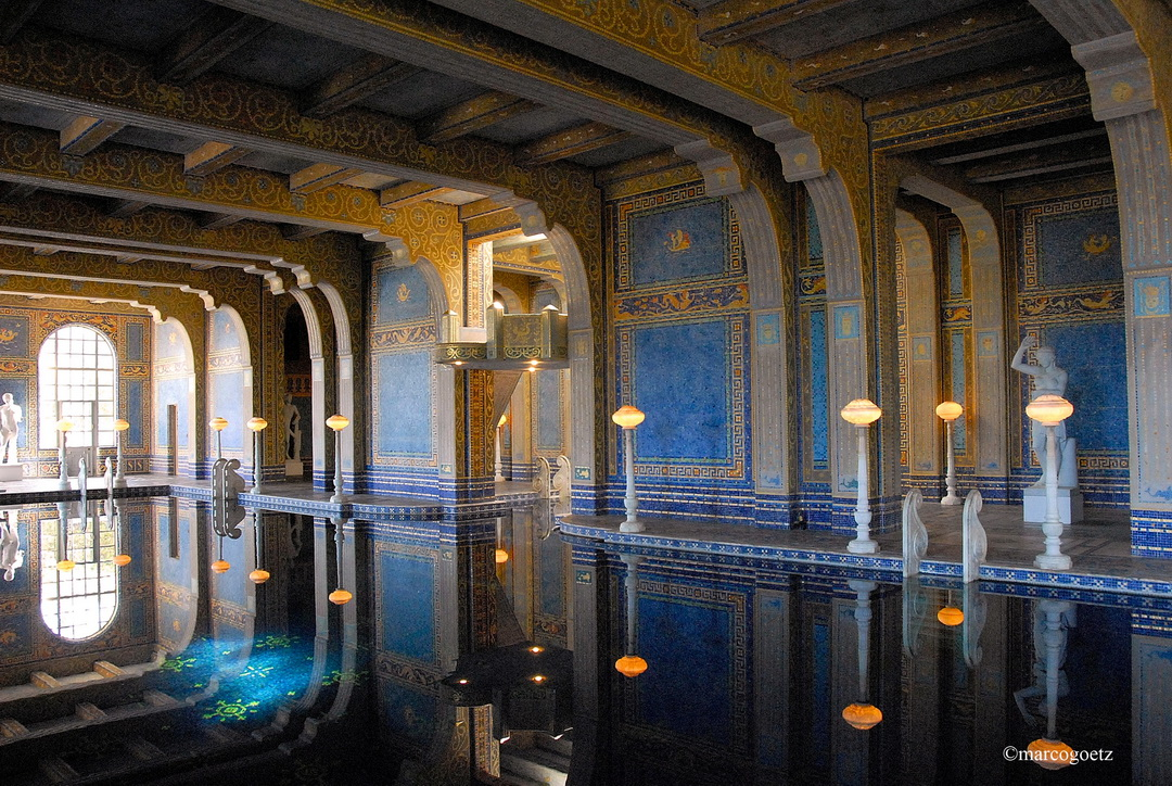 SAN SIMEON HEARST CASTLE CALIFORNIEN USA1